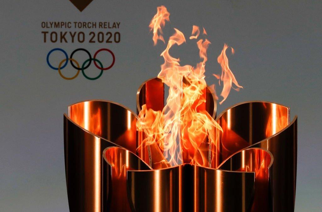الشعلة الأولمبية طوكيو 2020